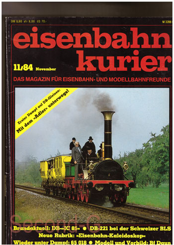 Eisenbahn Kurier 11/84