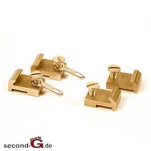 8100520 - Massoth Spur G Gleisanschlussverbinder (Messing) 20 Stück