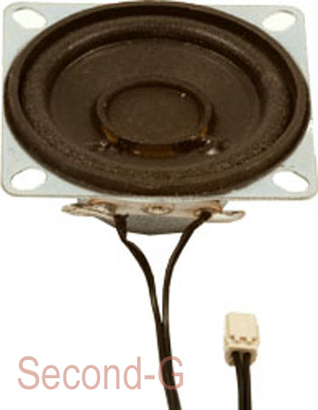 Massoth 8241040 - Lautsprecher 40mm x 40mm, 2 Watt, 8Ohm