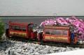 LGB 1988 - Strassenbahnset Jubiläumsausgabe 20 Jahre Lehmann OVP neuwertig